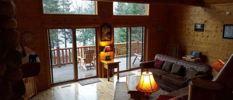 Bear's Den Living Room View