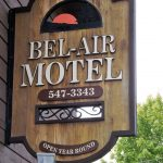 Bel-Air Motel sign
