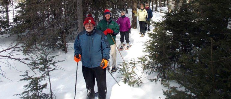 Snowshoeing in Land O' Lakes