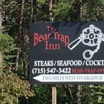 Bear Trap Inn Sign