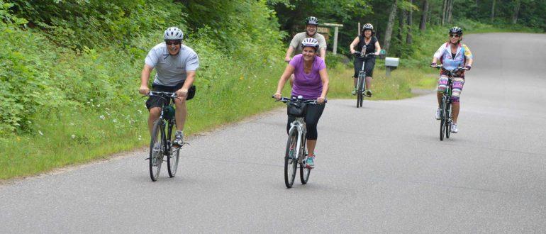 Biking in Land O' Lakes